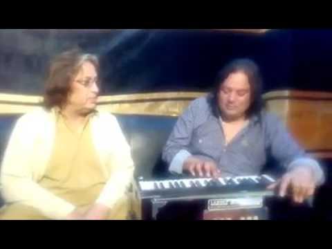 Wajid Tafu with Baba ji Syed Shehbaz Ali...