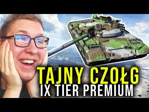 TAJNY CZOŁG - 9 TIER PREMIUM - World of Tanks thumbnail