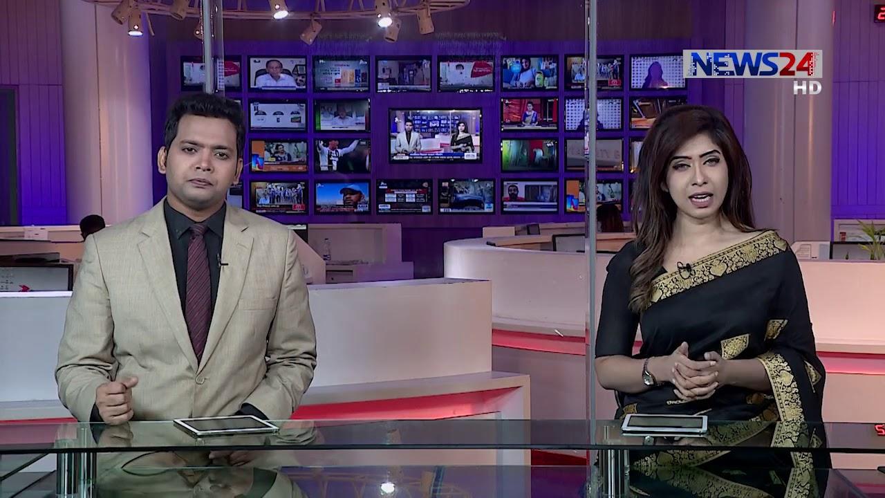 NEWS24 রাতের সংবাদ at 10pm News on 6th August, 2020 on News24   6Aug.20