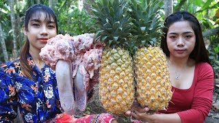 Yummy cooking Pig's Tongue With Pineapple recipe - Cooking skill