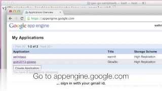 Google AppEngine Go - writing a simple web app