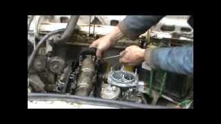 видео Головка блока цилиндров ВАЗ 2107