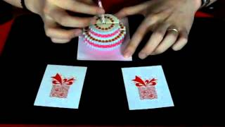 pop up card trick tekmagic