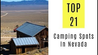 Amazing Camping Spots In Nevada. TOP 21