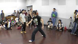 じゅんぺーとしんぺー vs ファンクレイブ BEST16 FREESTYLE SIDE / RUN UP! × ばとる☆マギカ vol.2