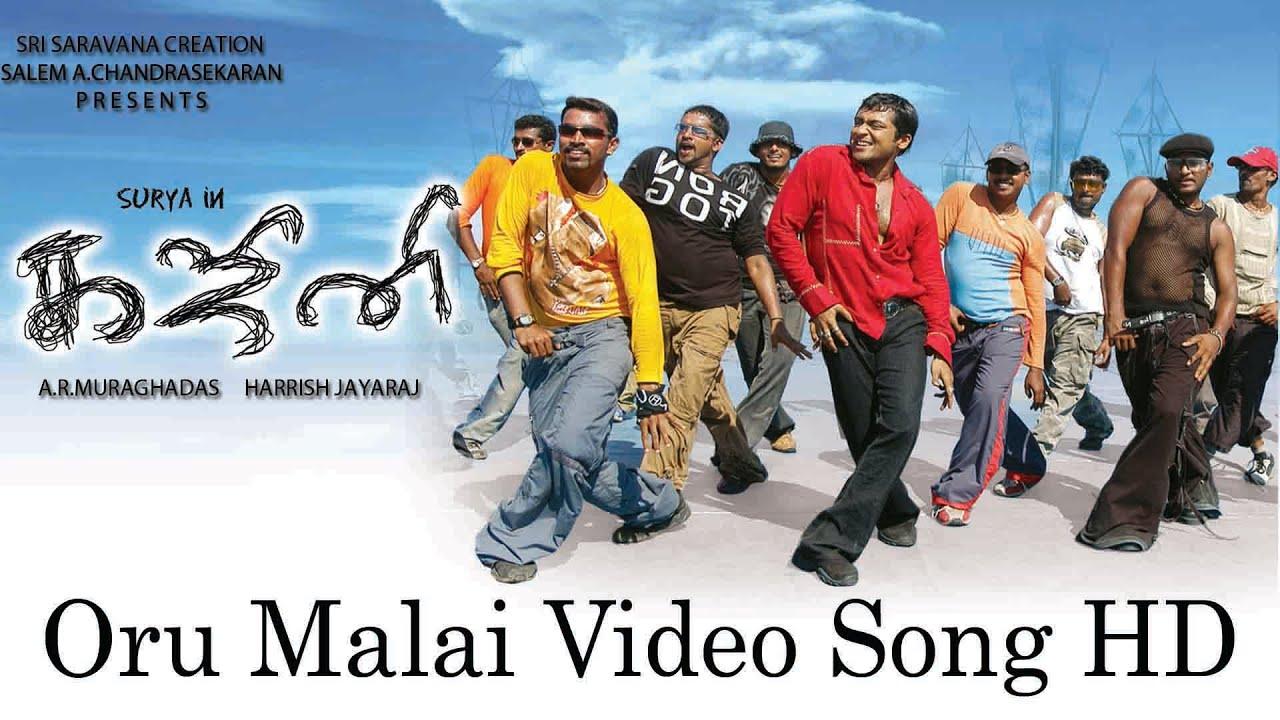 Download Oru Malai Video Song - Ghajini | Suriya | Asin | Nayanthara | Harris Jayaraj | A.R. Murugadoss