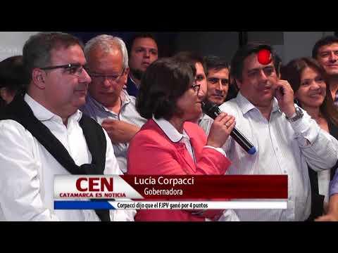 """Corpacci: """"El FJPV ganó por 4 puntos"""""""
