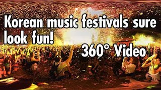 Video 360º Experience in a Crowded South Korean Music Festival download MP3, 3GP, MP4, WEBM, AVI, FLV Desember 2017
