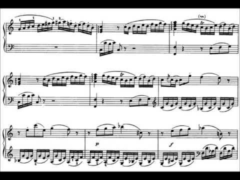 Sonata in C Major, K. 279 (1st mvmt: Allegro) by W.A. Mozart