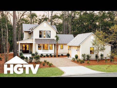 HGTV Smart Home 2018 - Tour the Outside - YouTube