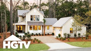 Tour the Outside | HGTV Smart Home (2018) | HGTV