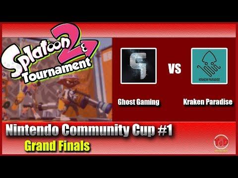 Splatoon 2 - Official Nintendo EU Community Cup #1: Ghost Gaming vs Kraken Paradise (Grand-Finals)