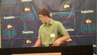 Alex Aguiar Accepts 2012 PCA Triple-Impact Competitor® Scholarship