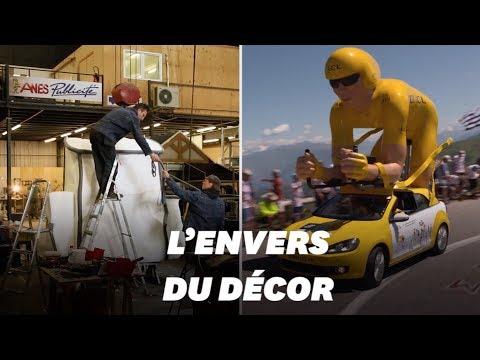 Tour De France 2019 : Dans Les Coulisses De La Construction De La Caravane