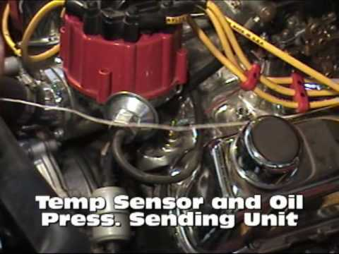 hqdefault 1971 bronco part 2 engine harness install youtube