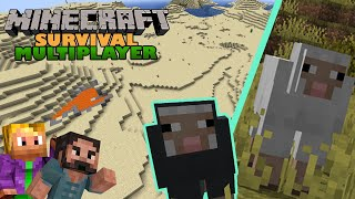 Minecraft Survival Multiplayer ⛏   Exploring The Desert   1.17 Let's Play   EP02