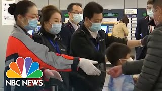 Coronavirus Continues To Spread Across Asia And Europe   NBC Nightly News