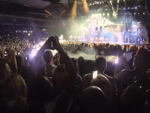 Lady Gaga Xcel Center (Saint Paul, MN, Feb. 6th., 2013) Bad Romance