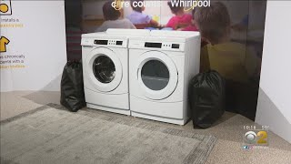 New Program Lets Kids Clean Their Clothes At School