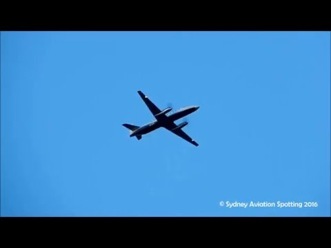 Sharp Airlines Fairchild Metro III [VH-OZV] Approach Coffs Harbour Airport