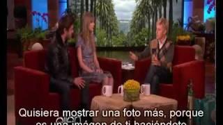 [SUBTITULADO] Entrevista Zac Efron y Taylor Swift en Ellen DeGeneres Febrero 2012