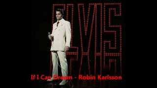 Elvis presley if i can dream cover - Robin karlsson