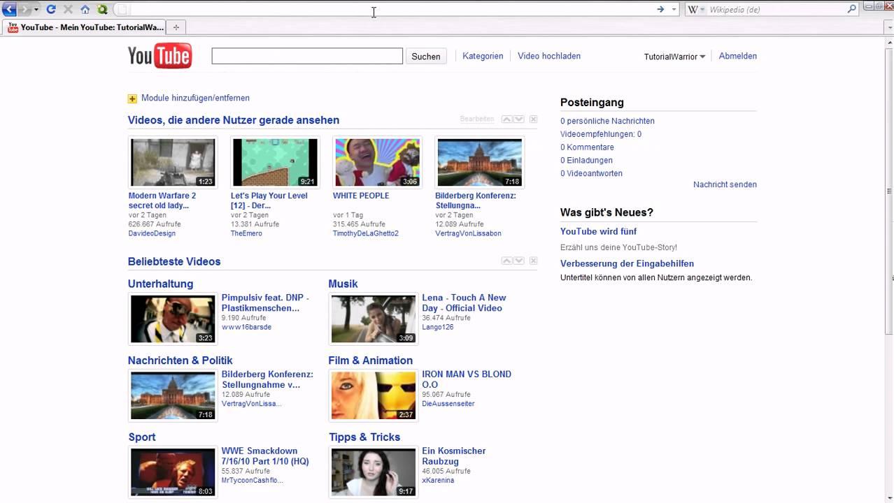 Videos Ruckeln Firefox