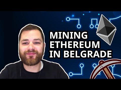 Vladeta Radovanovic - Mining Ethereum in Belgrade