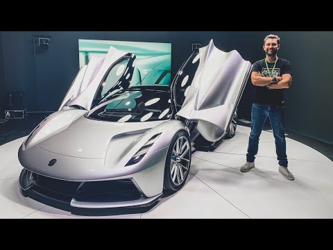 THIS Is The NEW Lotus Evija Hypercar! In Depth First Look