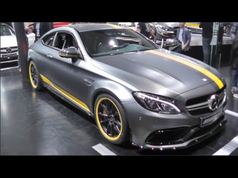 Mercedes Amg C 63 S Coupé Edition 1 2016 In Detail Review Walkaround Interior Exterior
