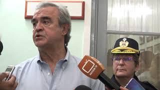 """Larrañaga afirmó que hay """"pistas firmes"""" en el crimen de Daniela y que no desarmará a la Policía"""