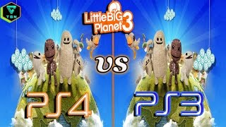LBP 3 PS4 vs PS3 Comparación Gráfica Prologo