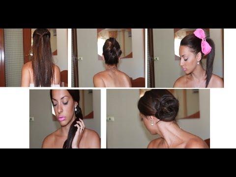 Acconciature facili da fare capelli ricci