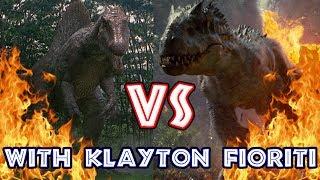 Spinosaurus VS Indominus Rex (with Klayton Fioriti)