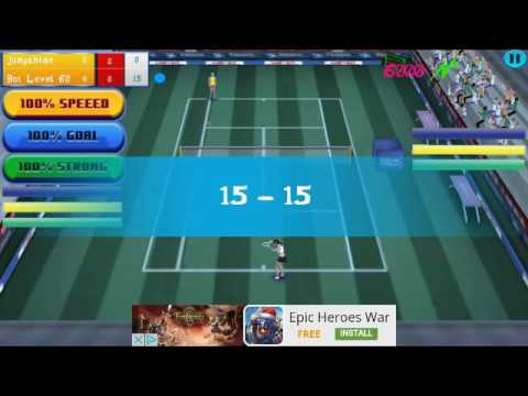Real Tennis 2017 mobile game