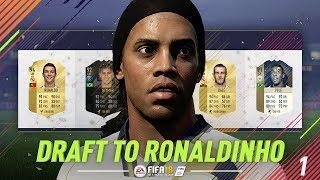 DRAFT TO RONALDINHO #1 | FIFA 18 Ultimate Team