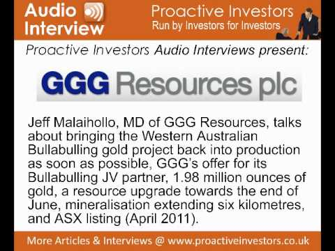 Jeff Malaihollo, MD Of GGG Resources, Talks To Proactive Investors