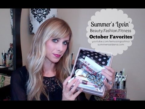 October Favorites! Feat. Maybelline, NYX, Colour Pop & more! | Summer Saldana