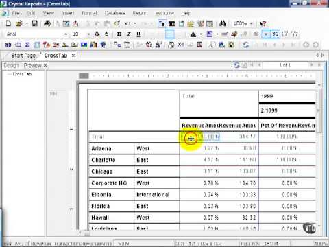 how to create crystal reports in business objects