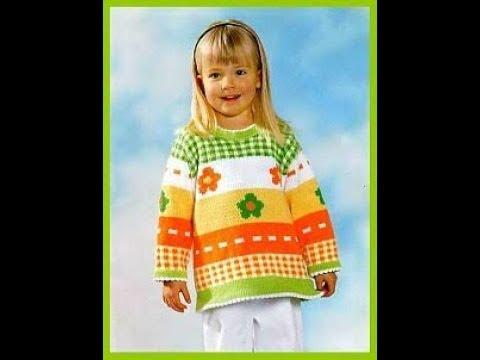 Вяжем Детский Свитер Спицами - 2019 / Knit Children's Sweater Knitting