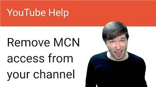 """★ Unlink your YouTube channel from any network! - New """"Remove Access"""" button started Aug 1, 2017"""