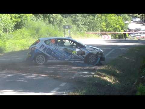 Accidente Alberto Perez Rally de Ourense 2017