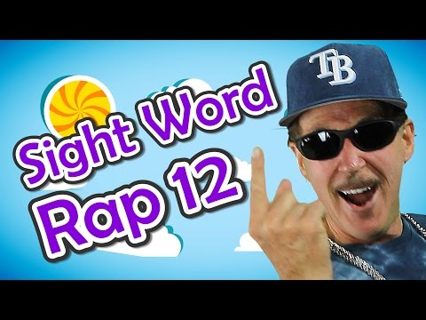 Sight Word Rap 12 | Sight Words | High Frequency Words | Jump Out Words | Jack Hartmann