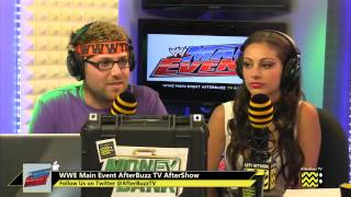WWE's Main Event After Show for October 30th, 2013 | AfterBuzz TV