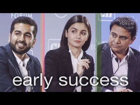 Alia Bhatt, Kavin Mittal, and K.T. Rama Rao Reflect on Early Success