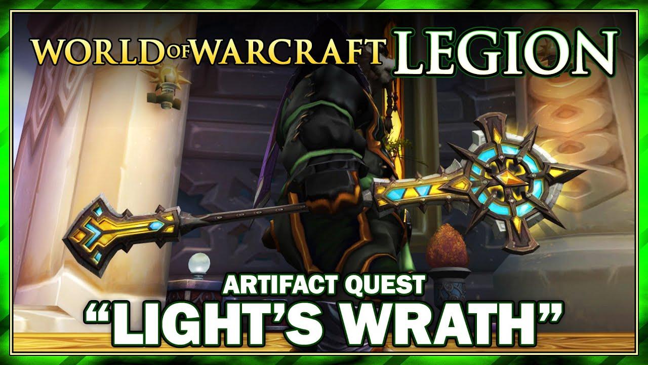 Artifact Quest: Discipline Priest | World of Warcraft: Legion Gameplay -  YouTube