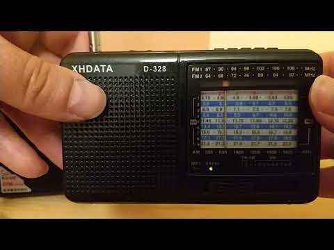 Краткий обзор  и продажа в Москве XHDATA D-328 DSP Radio