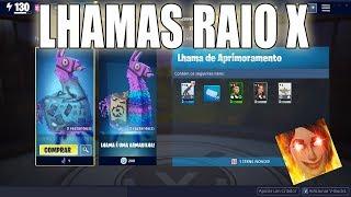NOVA LHAMA RAIO X NO FORTNITE SALVE O MUNDO