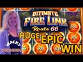 WACKY WEDNESDAY W/ GRETCHEN #22 HIGH LIMIT Ultimate Fire Link Route 66 HANDPAY JACKPOT HUGE EPIC WIN