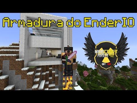 Minecraft Area 42 Ep10 - Armadura do Ender IO